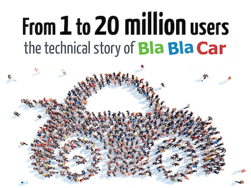 From 1 to 20 million users, the technical story of BlaBlaCar