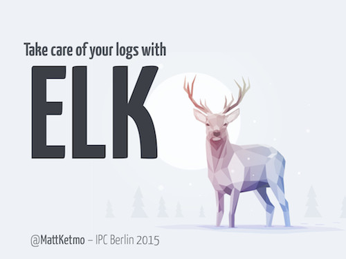 Take care of your logs with ELK