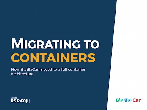 Migrating to containers