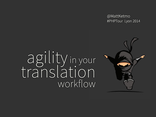 Agility in your translation workflow